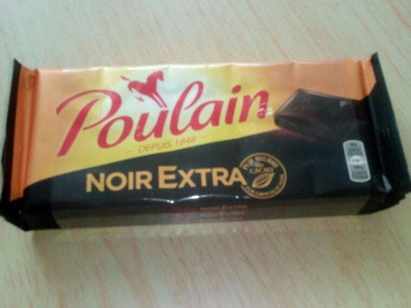 Chocolat noir extra - Poulain