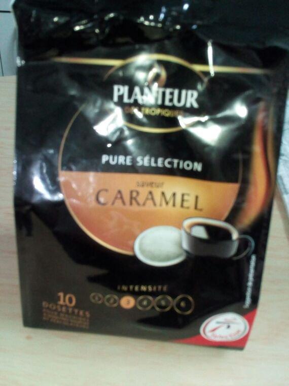 Café saveur caramel