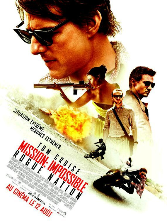 Mission impossible 5 - Tom Cruise