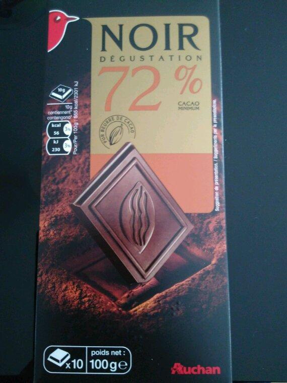 Chocolat 72°