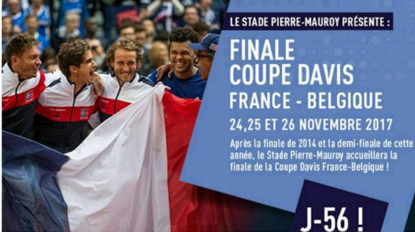 Coupe Davis France / Belgique 2017