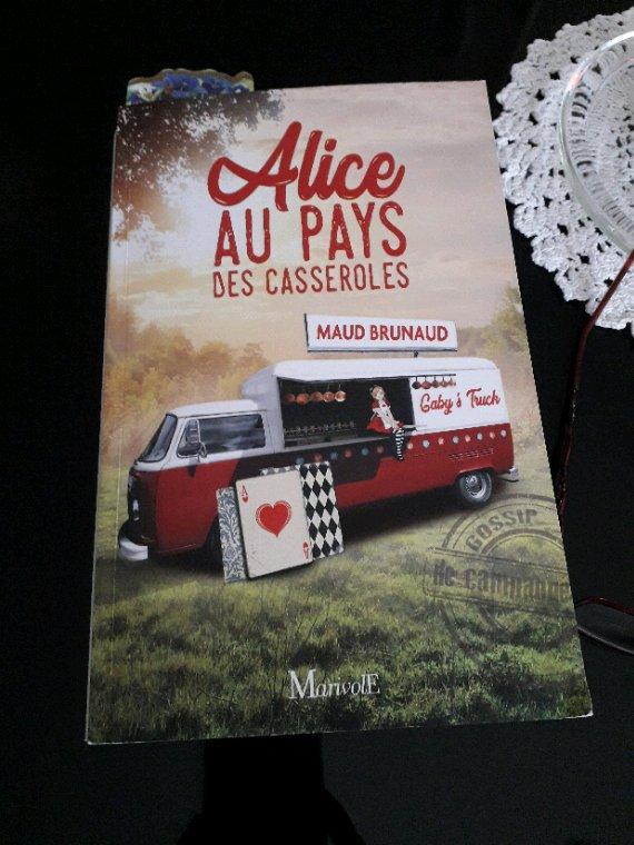 Livre - Alice au pays des casseroles- Maud Brunaud