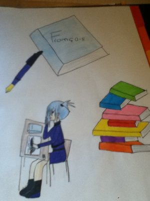 page de garde de francais blog de magali manga. Black Bedroom Furniture Sets. Home Design Ideas