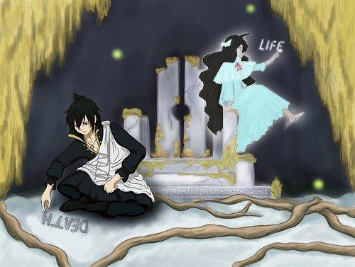 Zeref a certainement été affecter... Par ma mort....