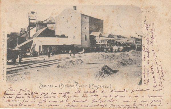 Carrieres-lenoir-concasseur-en-1901