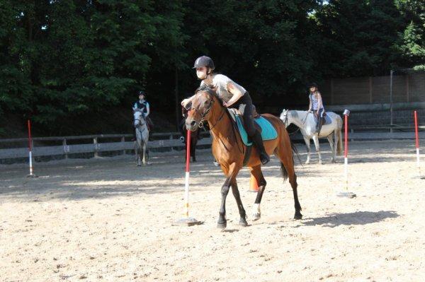Pony Games#Dernière séance de l'année#Albina#Orage#Carla#Clémence  ♥