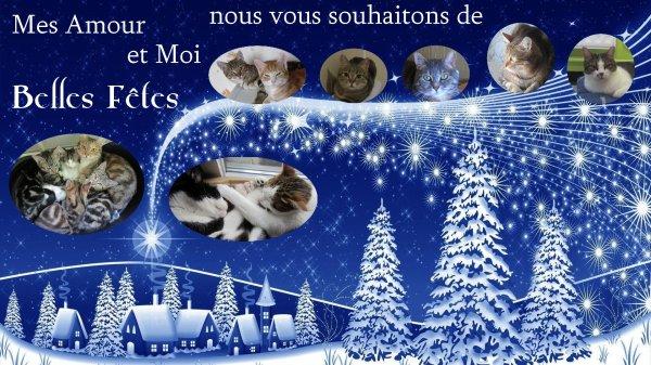 Joyeuses Fêtes de fin d'année!!