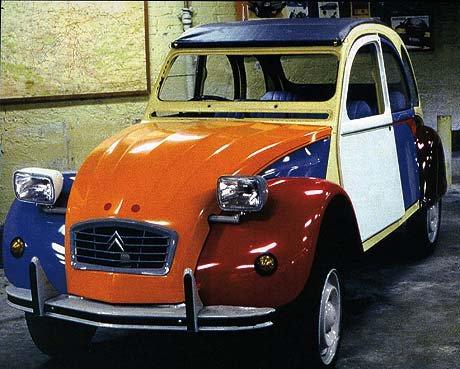 En 1986, à Levallois, Citroën procède