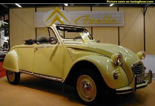 1964 Citroën 2CV cabriolet - 2CV
