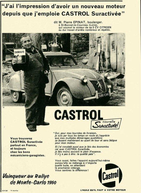 Pub Castrol  2 CV