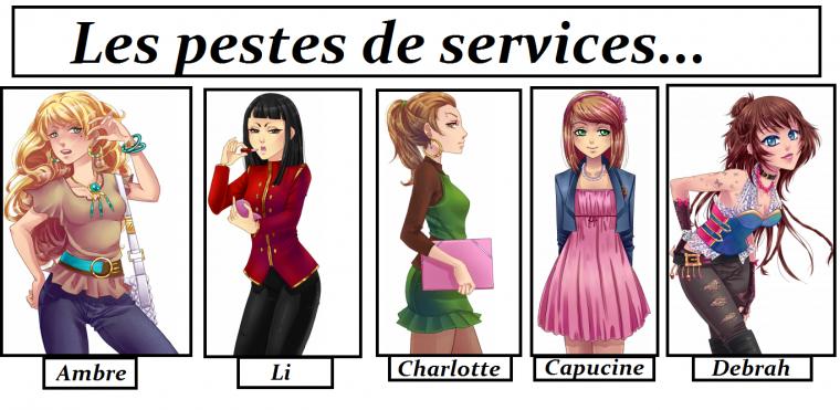 """Présentation des personnages, partie 2: """"Les filles !"""""""