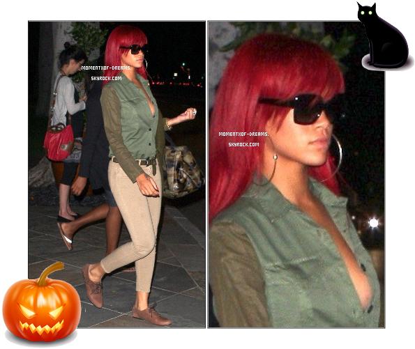 13.10.2010. Rihanna a été vue dans les rues de Hollywood. Ton avis ?