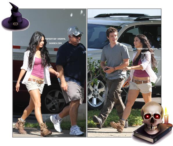 . 21.10.2010.  Vanessa et son costar Josh Hutcherson sur la tournage de « Journey 2 : The Mysterious Island » à Hawaii.Ton avis ?