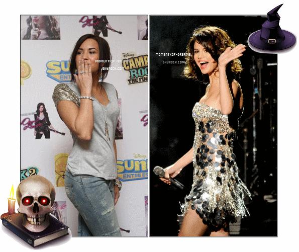 24.10.2010. Demi était à une conference de presse à l'Hôtel Four Seasons à Mexico.Ton avis ? . 23.10.2010. Selena était à l'évenement Justin Timberlake & Friends. Voici des photos des backstages et de sa performance.Ton avis ?