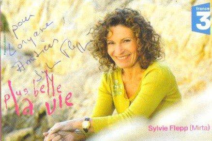 Dédicace de Sylvie Flepp