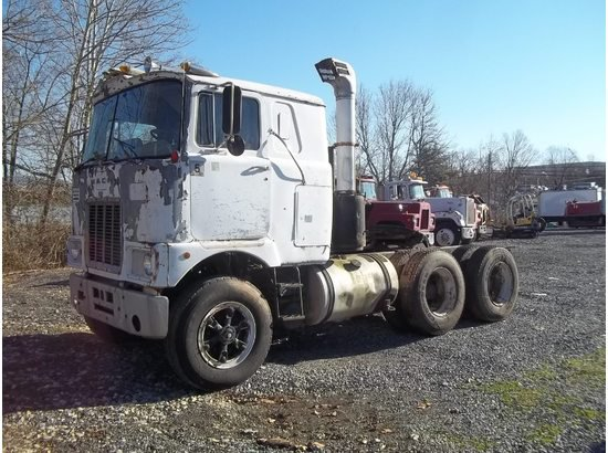 1980 MACK F MODEL Cabover Truck - Sleeper $4,800.00