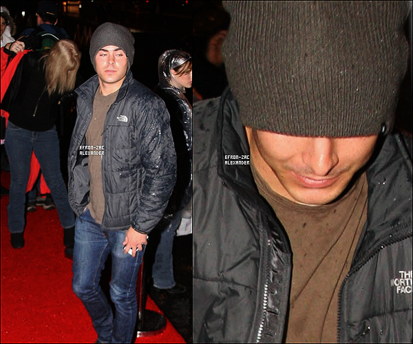 20/11/2011 : Zac Efron a été vu avec son père quittant  le match de football à Carson en Californie.Top ?