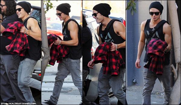 27 Et 28 Janvier : Mr Muscles , Zac Efron a été vu sur le set de son film  Paperboy à Los Angeles.