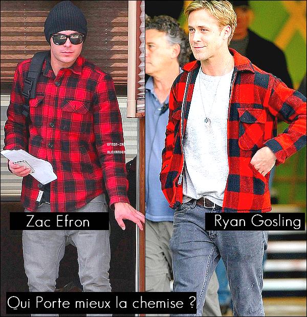 29 Janvier : Le beau-Gosse,Zac Efron a été vu quittant le set de son film  Paperboy à Los Angeles. Top ?