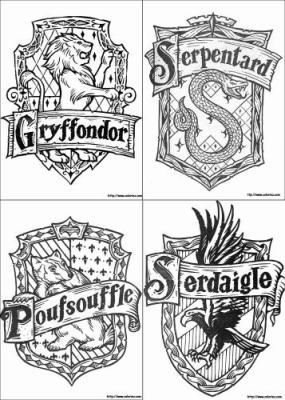 Image Result For Coloring Page Ravenclaw