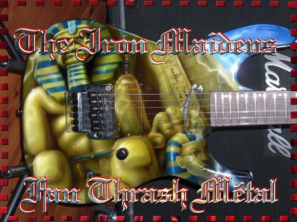 † The Iron Maidens †  Groupe Metalleuses †