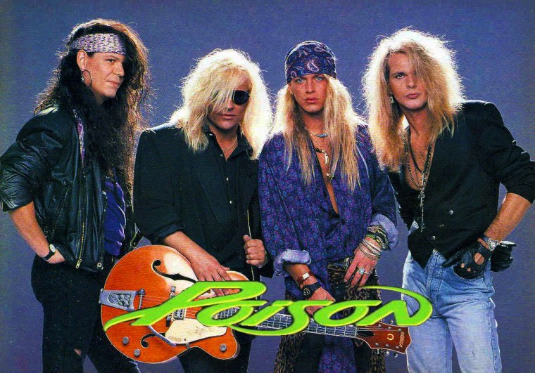 ✠...Poison 01 - Look What The Cat Dragged In - LIVE ...✠