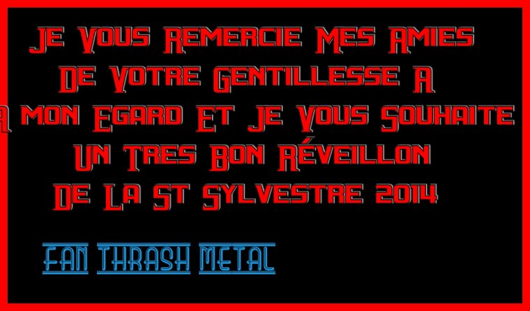 <> Bon Reveillon De La St Sylvestre <>