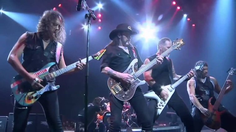 ✠... Metallica And Lemmy Kilmister - Damage Case Too Late Too Late Live  ...✠