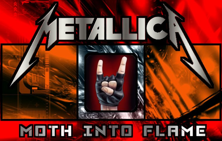 ✠... Metallica, Lady Gaga - Moth Into Flame …✠