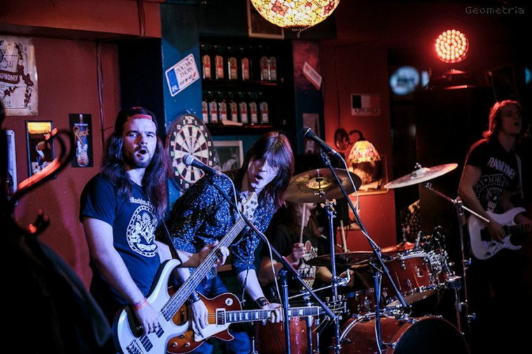 ✠... Scream Inc. - For Whom The Bell Tolls [Metallica Cover] Live Ekb …✠