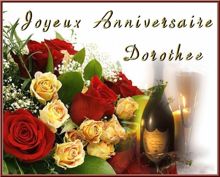 <> Joyeux Anniversaire Dorothée <>