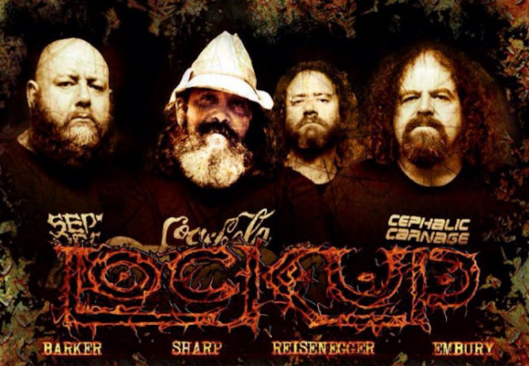 ✠... Lock Up - Necropolis Transparent & Vomiting Evil - Live At Brutal Assault 2012 …✠
