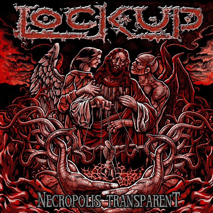 ✠... Lock Up - The Plague That Stalks The Darkness [Lyric video] …✠