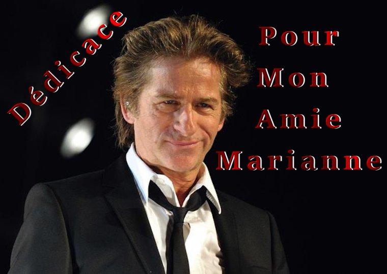 ♫ ♪ ♫... Joyeux Anniversaire ♫ ♪ ♫ Marianne …♫ ♪ ♫