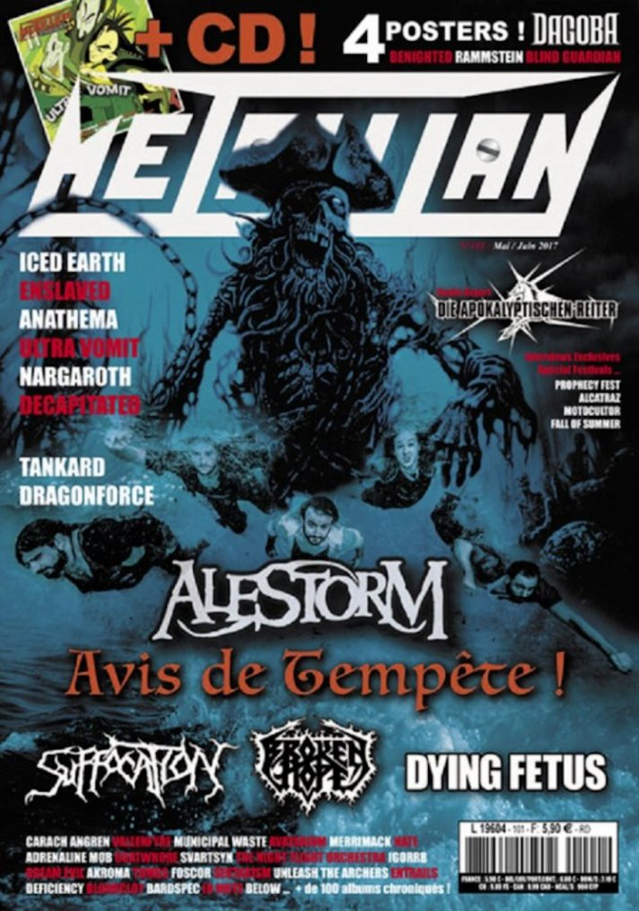 ✠... Metallian N°101 En Kiosque …✠
