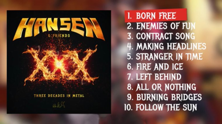 ✠... Hansen & Friends - Ride The Sky  / Live / Thank You Wacken DVD / CD …✠