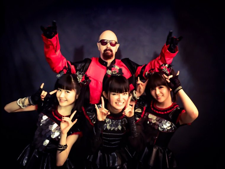 "✠... Baby Metal & Rob Halford "" Judas Priest "" …✠"
