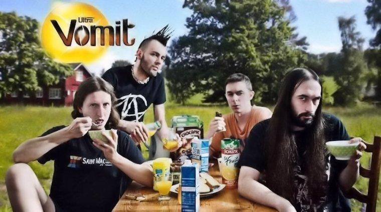 ✠... Ultra Vomit Live Nantes 30/04/2018 Hellfest Warm Up 2018 …✠