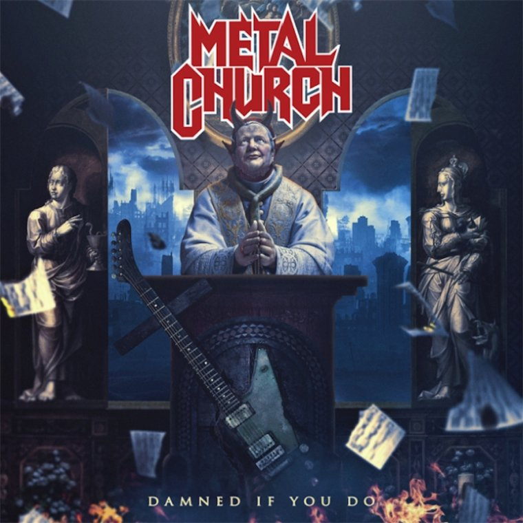 ✠... Metal Church - Damned If You Do - Official Video …✠