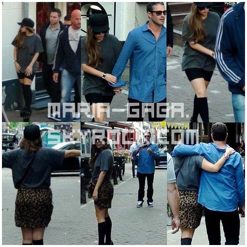 Taylor Kinney Et Gaga En Promenade