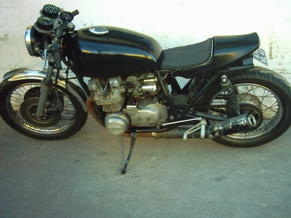 Cafe Racer Kawasaki Z 650 1977