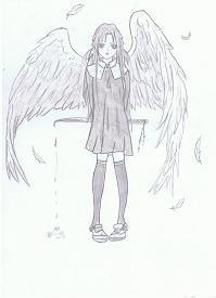 Anges manga - Ange facile a dessiner ...