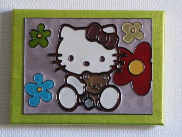 Tableau hello kitty