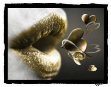 Bisous d'or....