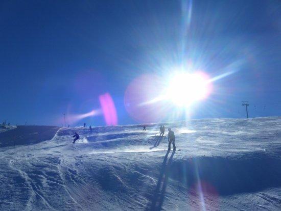 Juste parce que quand je skie je me sens libre <3