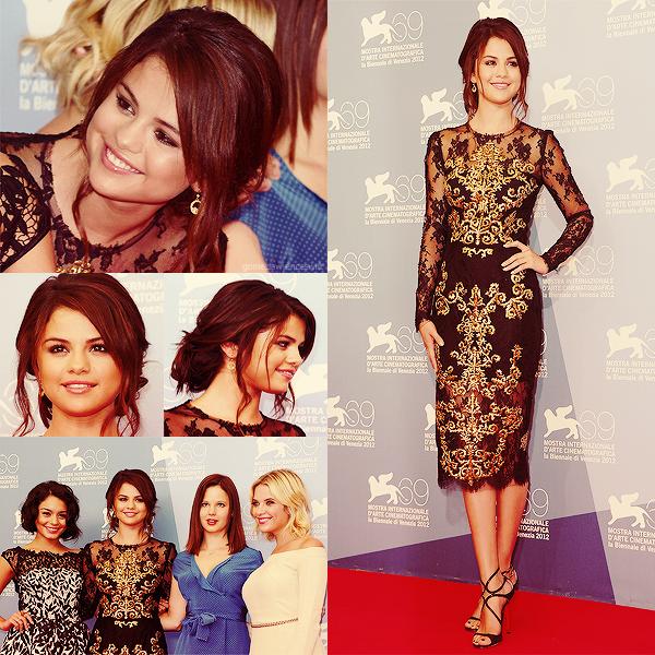 ₪ 05.09.2012 | Selena au Festival de Venise
