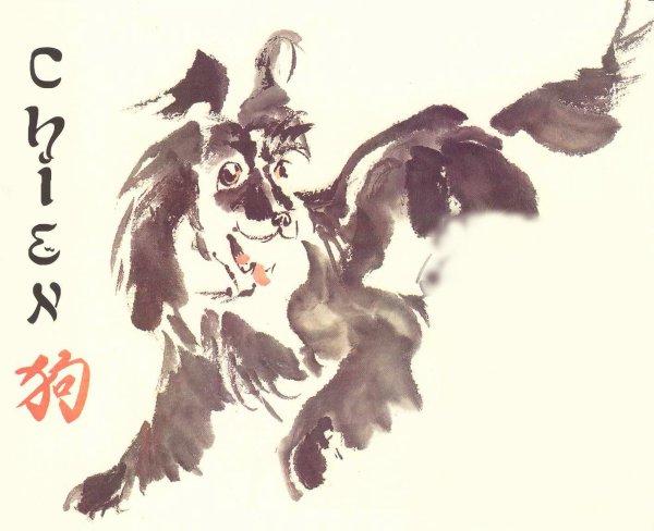 2018 Année du chien dans l'horoscope chinois