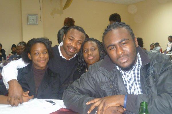 With ma homies in tha chuurch breeh !!