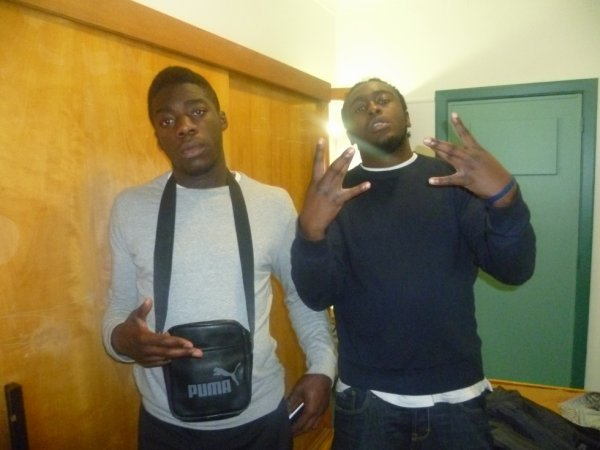 With my young nigga