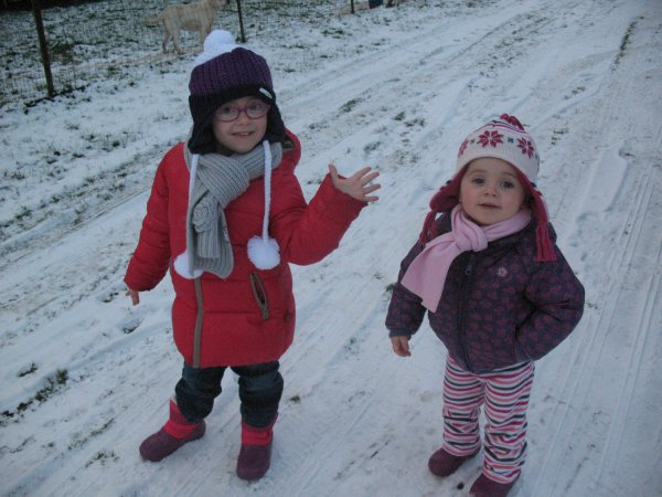 Janvier 2013 - Les filles dasn la neige